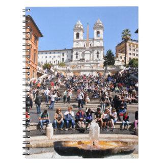 Piazza di Spagna, Rome, Italy Notebook