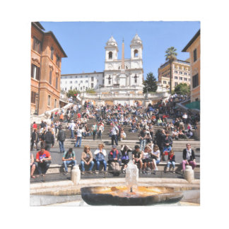 Piazza di Spagna, Rome, Italy Notepad