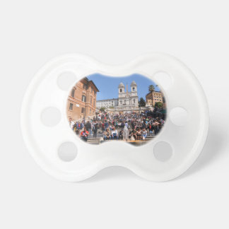 Piazza di Spagna, Rome, Italy Pacifier