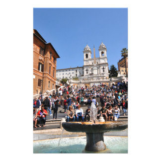 Piazza di Spagna, Rome, Italy Stationery