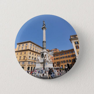 Piazza Navona in Rome, Italy 2 Inch Round Button