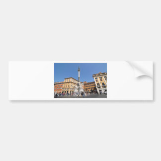 Piazza Navona in Rome, Italy Bumper Sticker