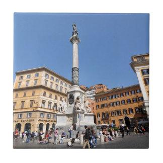 Piazza Navona in Rome, Italy Ceramic Tiles