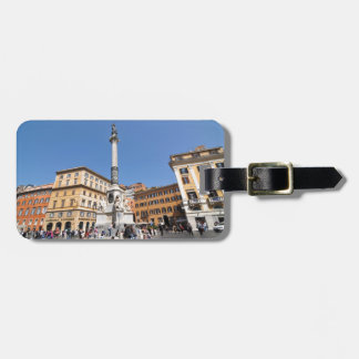 Piazza Navona in Rome, Italy Luggage Tag