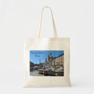 Piazza Navona- Rome, Italy Tote Bag