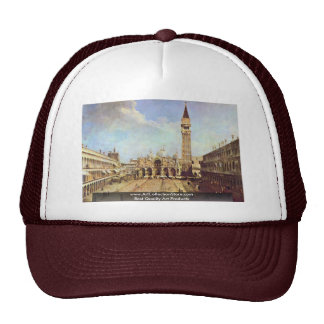 Piazza San Marco. By Canaletto Trucker Hat