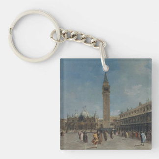Piazza San Marco Keychain