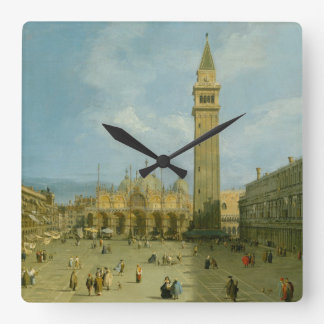 Piazza San Marco Square Wall Clock