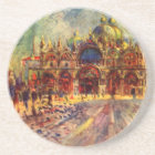 Piazza San Marco, Venice by Pierre Renoir Coaster