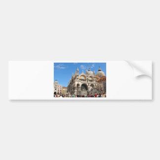 Piazza San Marco, Venice, Italy Bumper Sticker