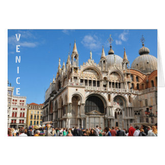 Piazza San Marco, Venice, Italy Card