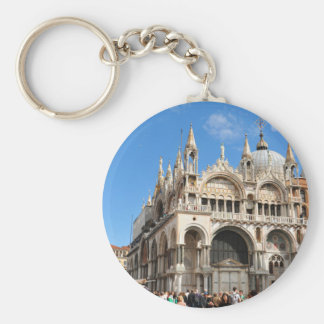 Piazza San Marco, Venice, Italy Keychain