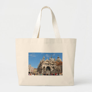 Piazza San Marco, Venice, Italy Large Tote Bag