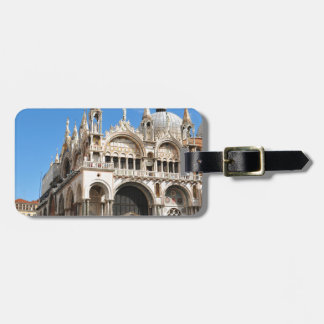 Piazza San Marco, Venice, Italy Luggage Tag
