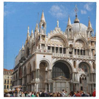 Piazza San Marco, Venice, Italy Napkin