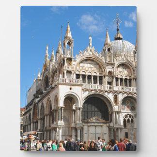 Piazza San Marco, Venice, Italy Plaque