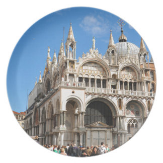 Piazza San Marco, Venice, Italy Plate