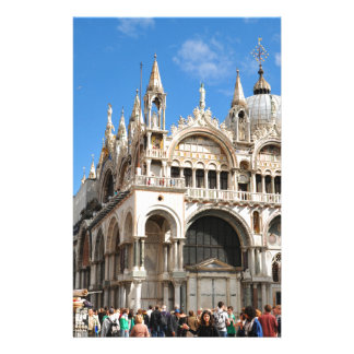 Piazza San Marco, Venice, Italy Stationery