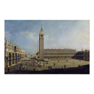 Piazza San Marco, Venice Poster