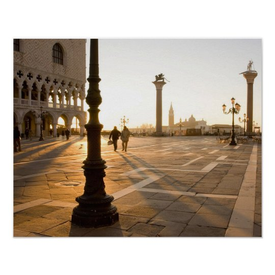 Piazza San Marco Venice Poster