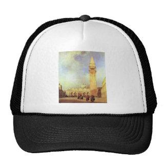 Piazza San Marco, Venice. Richard Parkes Bonington Trucker Hat