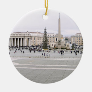 Piazza San Pietro Ceramic Ornament