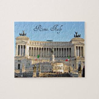 Piazza Venezia, Rome, Italy Jigsaw Puzzle