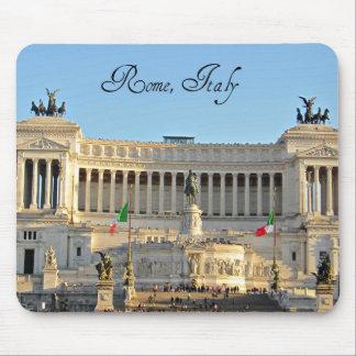 Piazza Venezia, Rome, Italy Mouse Pad