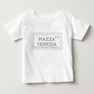 Piazza Venezia, Rome Street Sign Baby T-Shirt
