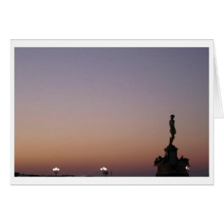 Piazzale Michelangelo, Florence, Italy Card