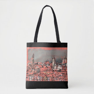 Piazzale Michelangelo Tote Bag
