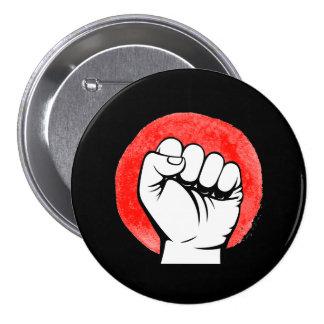 PIC FIST RESIST - 10x10 - 3 Inch Round Button