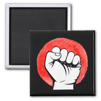 PIC FIST RESIST - 10x10 - Square Magnet
