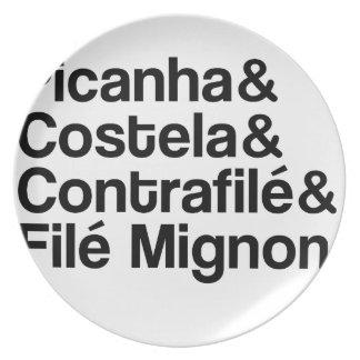 PICANHA, RIB, CONTRAFILÉ, MIGNON PLATES
