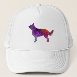 Picardy Sheepdog in watercolor Trucker Hat