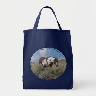 Picasso, a stallion in Sand Wash Basin, Colorado Tote Bag