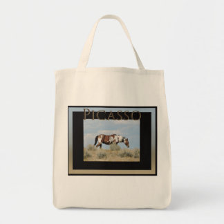 Picasso Icon of Sand Wash Basin,  Colorado Tote Bag