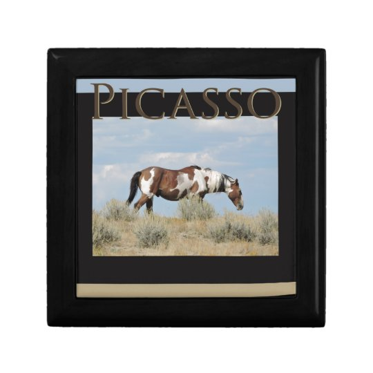 Picasso, Stallion of Sand Wash Basin, Colorado Gift Box