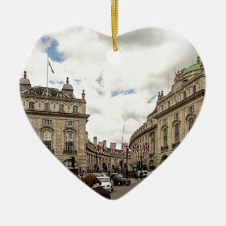 Piccadilly Circus Ceramic Ornament