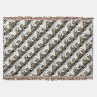 Piccadilly Circus Throw Blanket