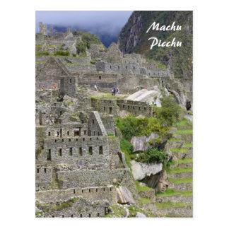 picchu peru postcard
