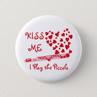 Piccolo Hearts 2 Inch Round Button