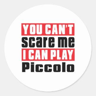 Piccolo Scare Designs Classic Round Sticker