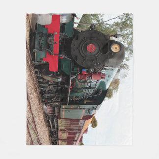 Pichi Richi steam train Fleece Blanket