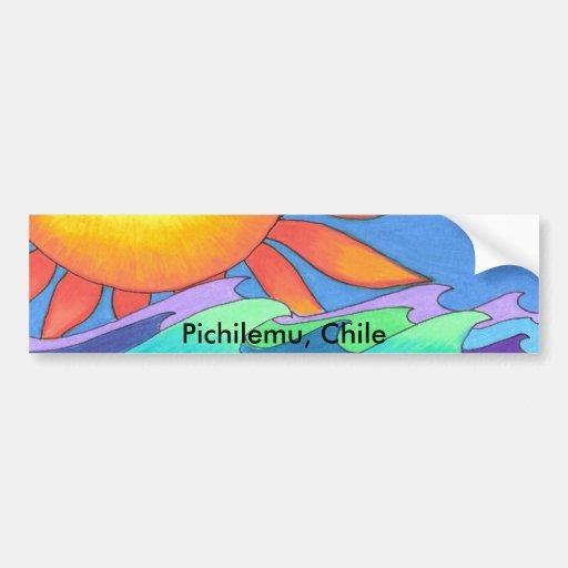Pichilemu, Chile Bumper Stickers