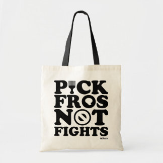 PICK FROS NOT FIGHTS™ - black tote