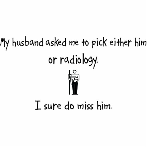 Pick Husband or Radiology Photo Cut Out