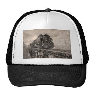 PICK OVER TRESTLE BW TRUCKER HAT