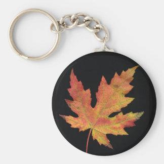 Pick This Leaf Basic Round Button Keychain