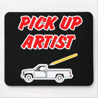 Pick Up Artist Mouse Pad